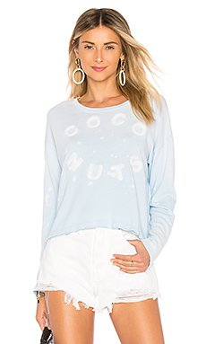 Coconuts Cropped Sweatshirt                                             SUNDRY