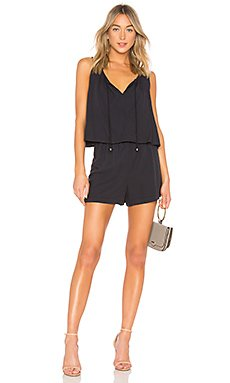 Crosshatch Tank Romper                                             Splendid