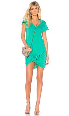 Lightweight Jersey Knotted Dress                                             Bobi