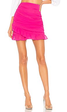 Lorraine Ruched Skirt                                             About Us