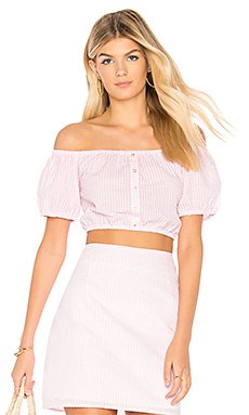 Gables Off Shoulder Top                                             MINKPINK