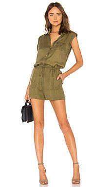 Button Down Romper                                             Chaser