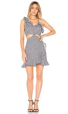 Jamie Cut Out Dress                                             Bardot