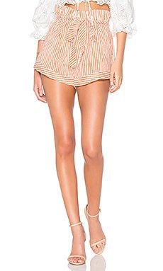 Isla Striped Short                                             For Love & Lemons