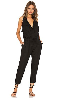 French Linen Easy Jumpsuit                                             Enza Costa