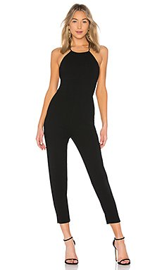 Tapered Jumpsuit In Black                                             BCBGeneration
