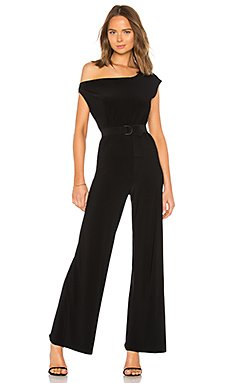 Drop Shoulder Jumpsuit                                             Norma Kamali