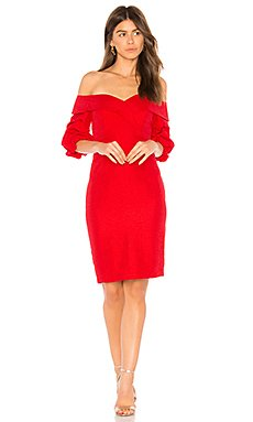 Devlin Twist Dress                                             Bardot