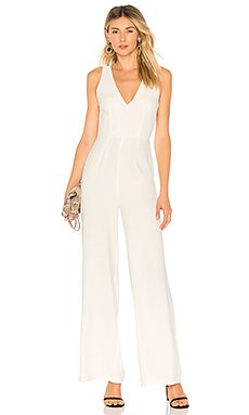 Carmela Deep V Wide Leg Backless Jumpsuit                                             by the way.