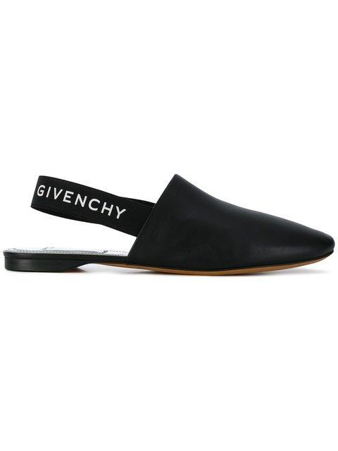 Givenchy Rivington Slingback Flats - Farfetch
