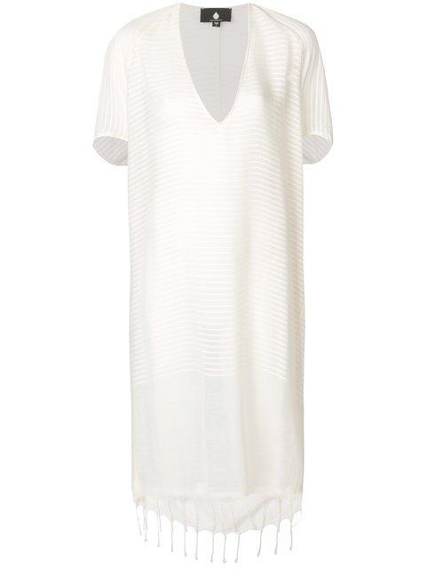 Su Plunge-neck Striped Cover-up - Farfetch
