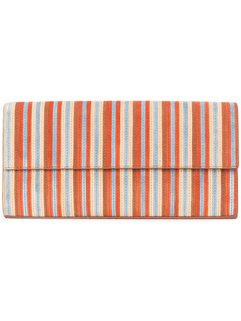 Dvf Diane Von Furstenberg Striped Clutch Bag  - Farfetch
