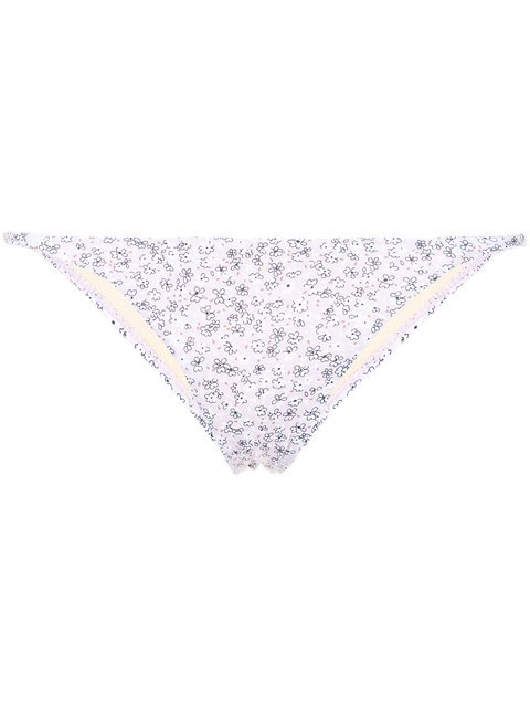 Peony Potpourri Holiday Bikini Bottoms - Farfetch