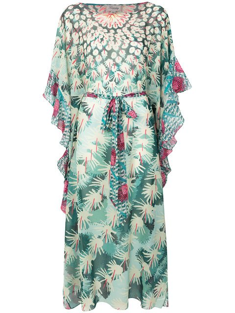 Temperley London Cote Cacti Kaftan Dress - Farfetch