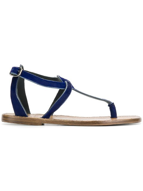Silvano Sassetti T-bar Strap Sandals - Farfetch