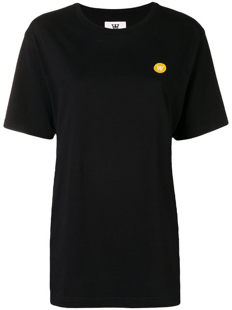 Wood Wood Embroidered Logo Short Sleeved T-shirt - Farfetch