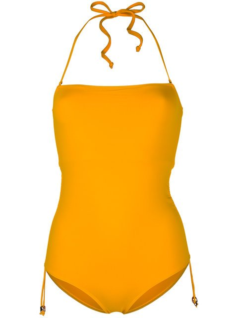 Tara Matthews Caspio Halterneck Swimsuit - Farfetch