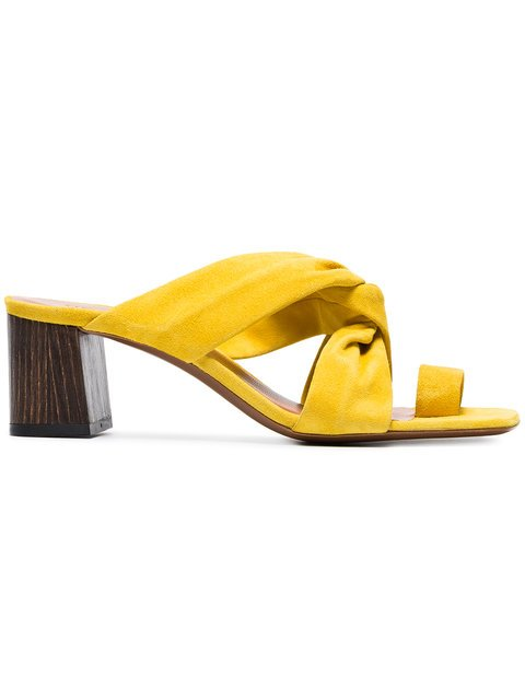 Neous Yellow Inopsis 55 Suede Mules - Farfetch