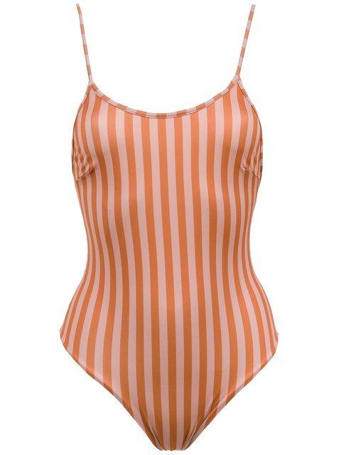 Haight Striped Alcinha Swimsuit - Farfetch