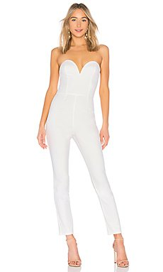 Carina Sweetheart strapless jumpsuit                                             by the way.
