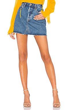 Quinn Skirt                                             AGOLDE