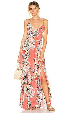 Through The Vine Printed Maxi Dress                                             Free People