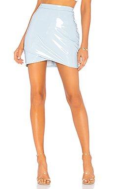 Helen Vinyl Skirt                                             by the way.