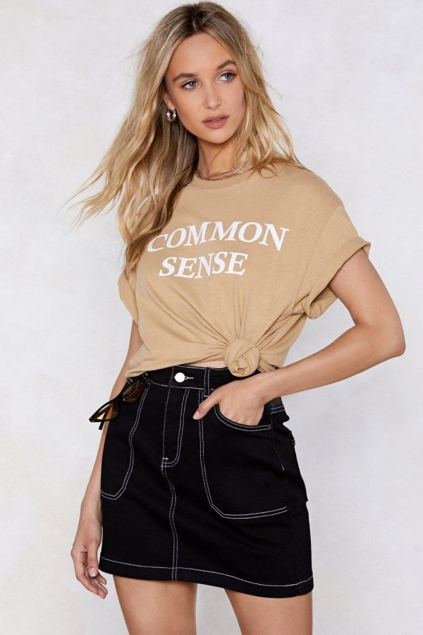 Use Your Common Sense Tee