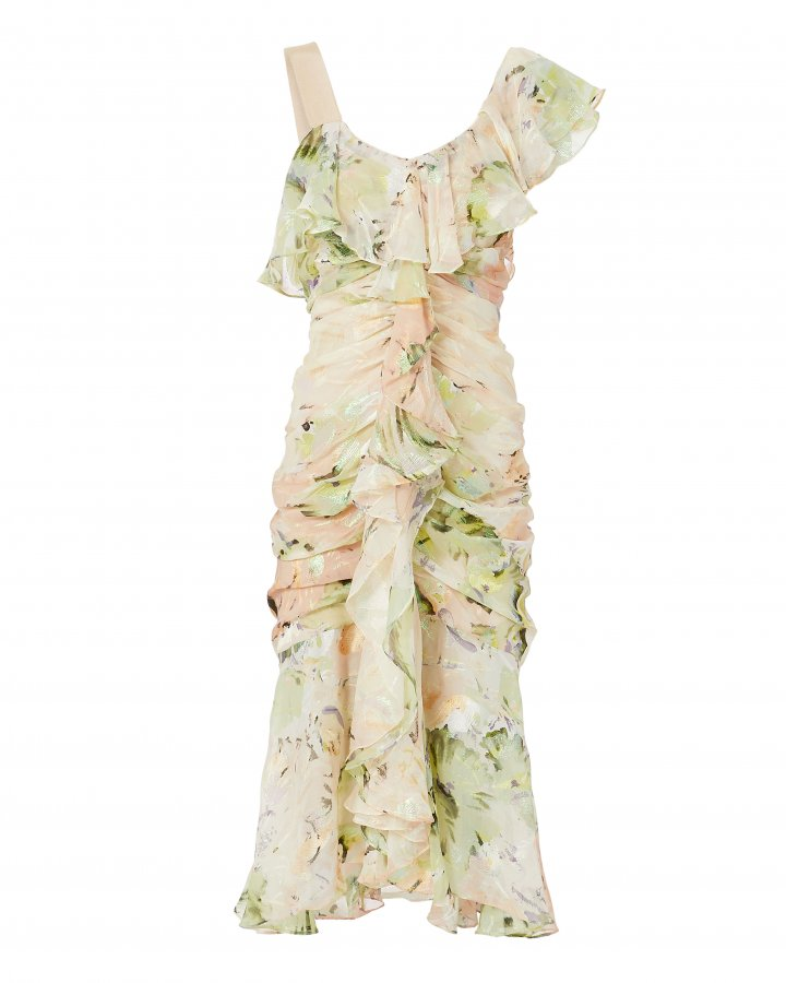 Oh Romeo Floral Midi Dress