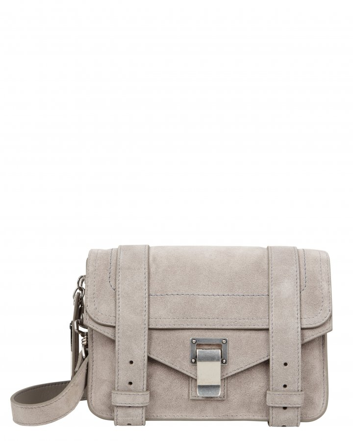 PS1 Mini Suede Grey Crossbody