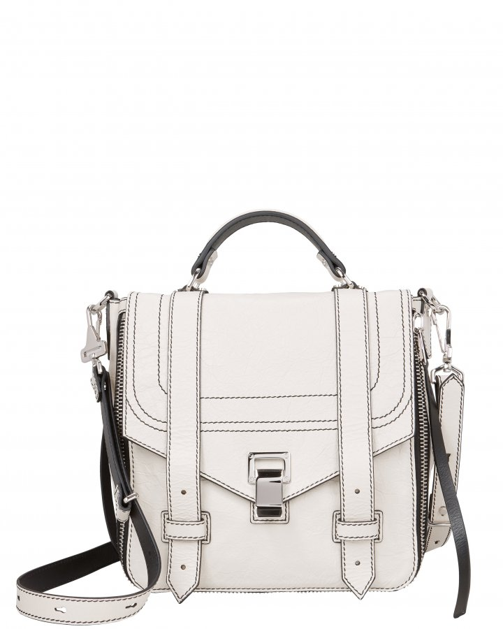 PS1+ Zip Leather Backpack