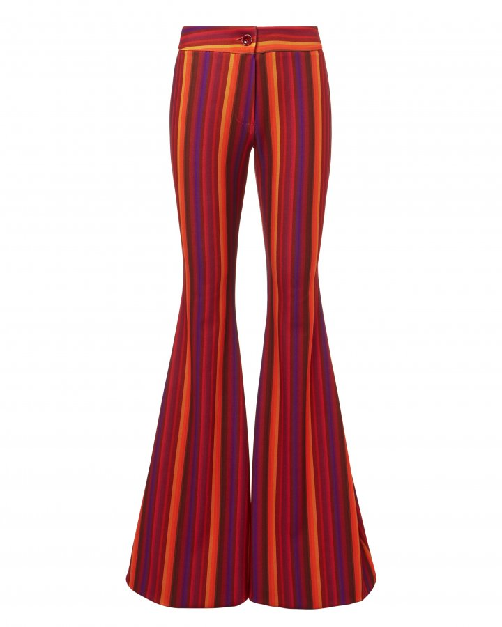 Woodstock Striped Flare Pants