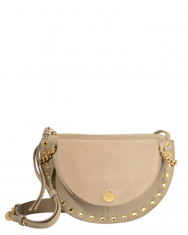Kriss Small Grey Shoulder Bag