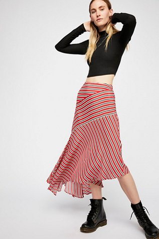 Luna Stripe Skirt