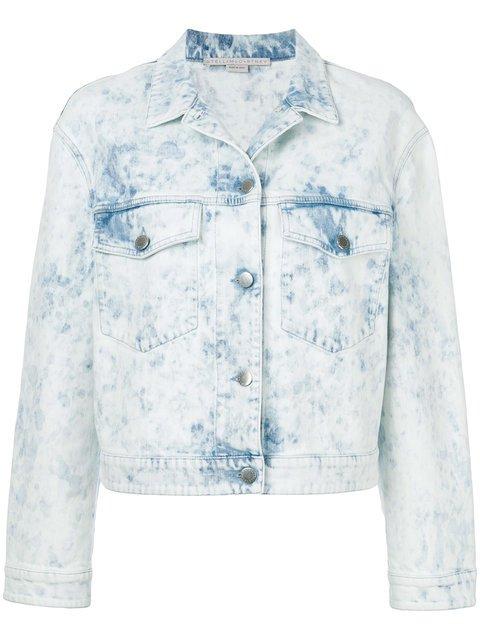 Stella McCartney Acid-wash Denim Jacket - Farfetch
