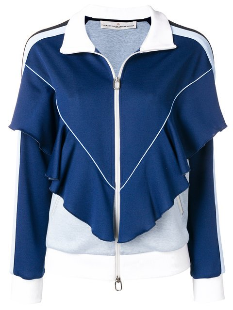 Golden Goose Deluxe Brand Zipped Ruffled Tracksuit Jacket - Farfetch
