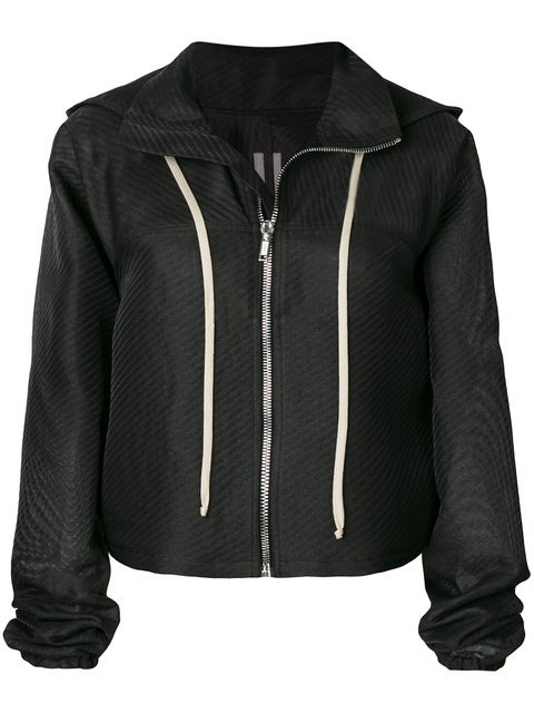 Rick Owens Windbreaker Cropped Jacket - Farfetch