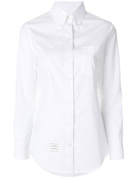 Thom Browne Button-down Slim-fit Shirt - Farfetch