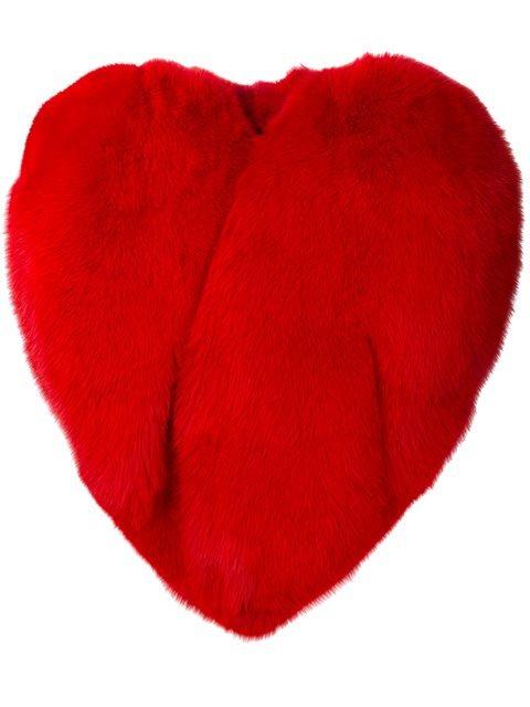 Saint Laurent Heart Shaped Cape - Farfetch