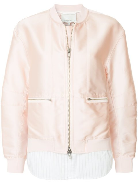 3.1 Phillip Lim Double Layer Bomber Jacket - Farfetch