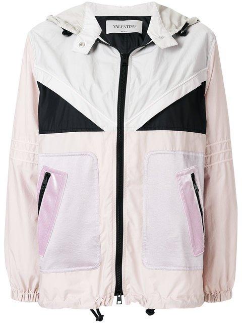 Valentino Colour Blocked Lightweight Jacket - Farfetch