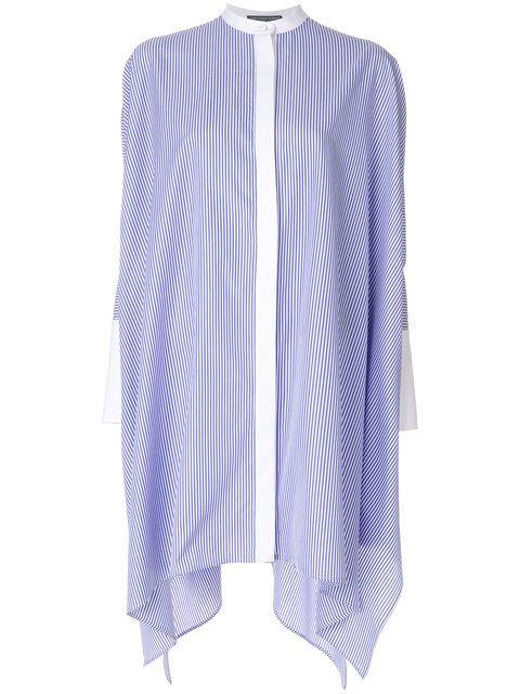 Alexander McQueen Striped Long Shirt - Farfetch