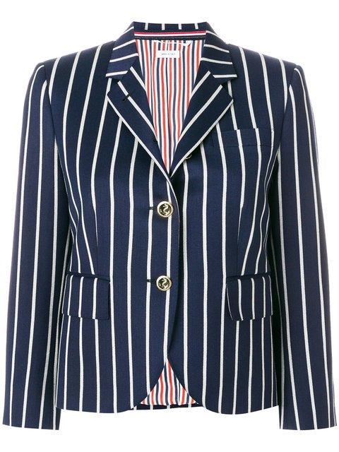 Thom Browne Striped Blazer - Farfetch