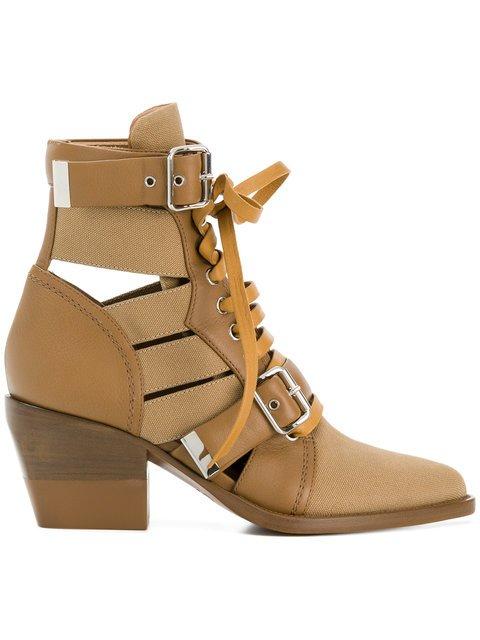 Chloé Multi Strap Ankle Boot - Farfetch