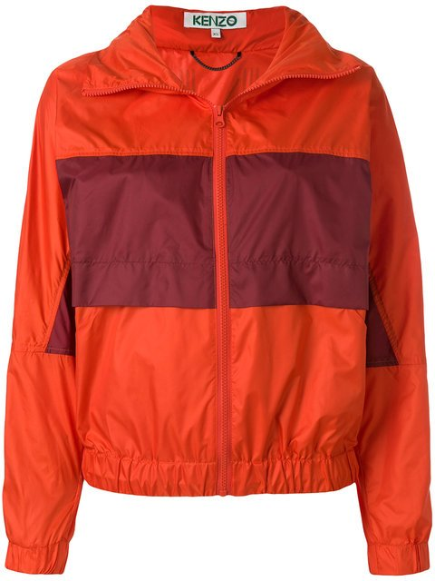 Kenzo Contrast Panel Windbreaker - Farfetch