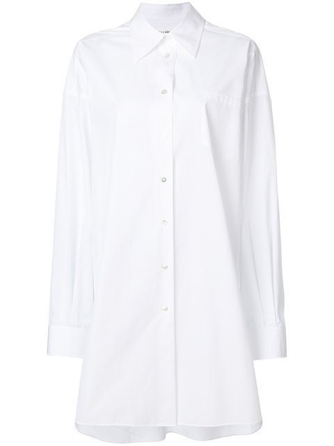 Maison Margiela Oversized Shirt Dress - Farfetch