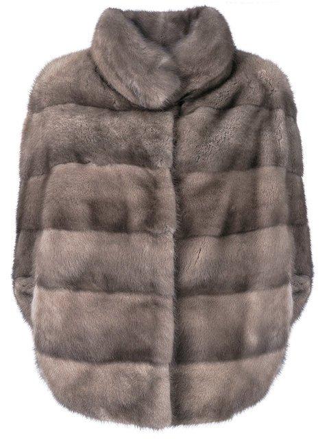 Liska Romea Slit Sleeves Fur Jacket - Farfetch