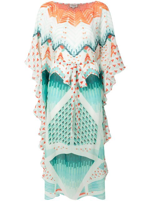Temperley London Cote Sunshade Kaftan Dress - Farfetch