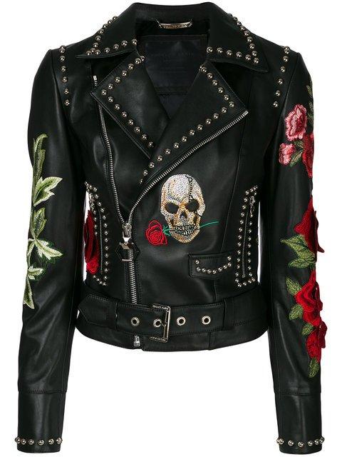 Philipp Plein Carole Guado Biker Jacket - Farfetch