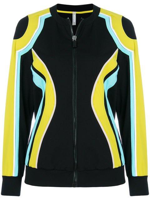 No Ka\' Oi Color Block Zip Jacket - Farfetch